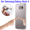 2016 new Electroplating Mirror TPU Protective Case for Samsung Galaxy Note 5 Case