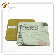 TWC3055 promotion paris coaster/table coasters/antique wooden coasters