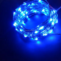 high brightness Wholesale price led copper wire string lights for christmas decoration