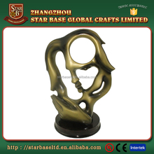 Modern art resin sculpture molds making for home decoration
