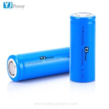 YJ LiFePo4 rechargeable battery 26650 3.2V 3000mAh for solar street light