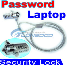 Password Computer Lock Anti-theft Chain For Laptop Notebook PC