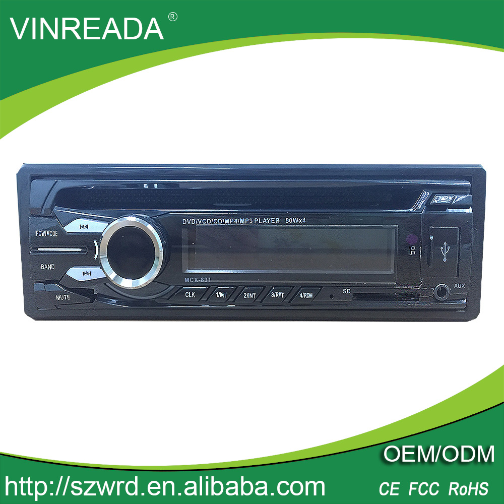 Vinreada Factory Price Car DVD/VCD/MP4/MP3/ Player with With FM/USB/SD