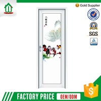 Newest Products Foshan Wanjia Customizable Aluminum Hinges Swing Casement Door