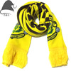 Jacquard knitted winter scarf for soccer team with custom logo