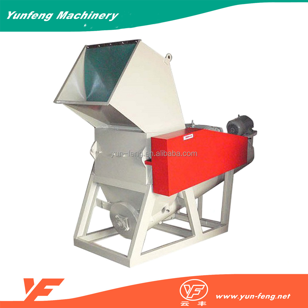 easy operation function shredder plastic grinder recycling machine