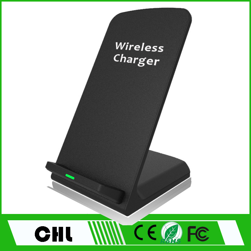 CE/FCC/ROHS Certified Fast Wireless Charger Charging Stand for iphone and Android Mobile phone accessories
