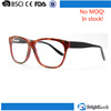No MOQ in stock designer optics turecolor handmade custom fashion glasses