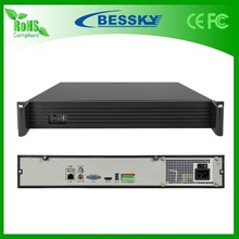 Bessky high quality 36 channel NVR support 4K/5MP/3MP/1080P IP camera 36ch NVR 4 HDD 6TB hard disk