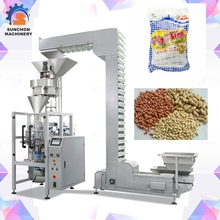 Roasted beans and salted peanuts packaging machinery for granule