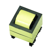 Customized transformer core design switches with transformer for halogen lamps