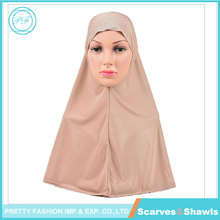 Lace Applique Ready to Wear Islamic Hijab