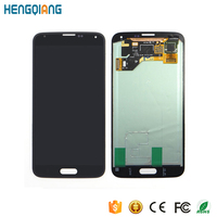 mobile phone spare parts for samsung galaxy s5 i9600 sm-g900 sm-g900f g900 lcd with touch screen