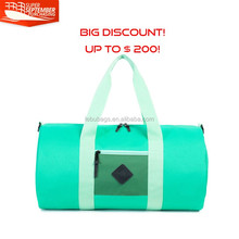 2016 new fashion custom outdoor duffel sports travel bag