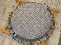 EN124 D400 Ductile iron sewer cover/Manhole cover with frame