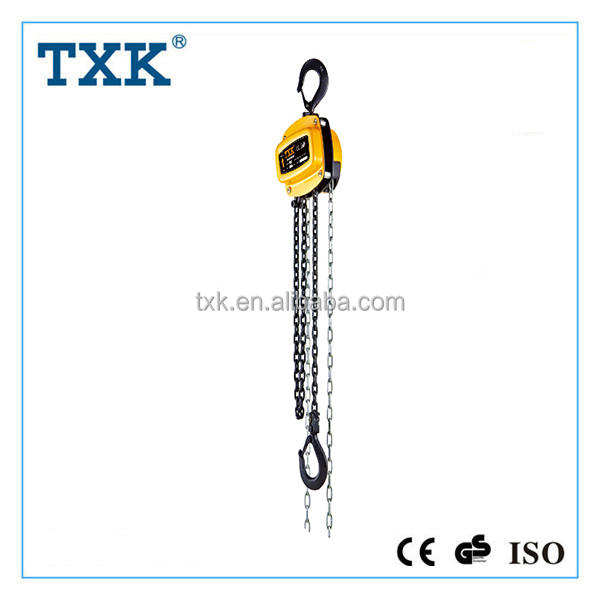 Widely used construction lifting crane,manual chain block