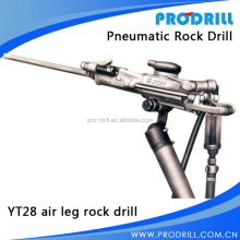 air leg rock drill for gold mining ore