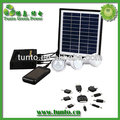 Christmas Promotion 4W Portable solar kit for indoor lighting with 7.4V4000mah lithium battery