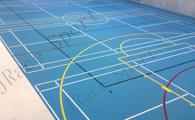 used multi-purpose sports court flooring Chinese supplier