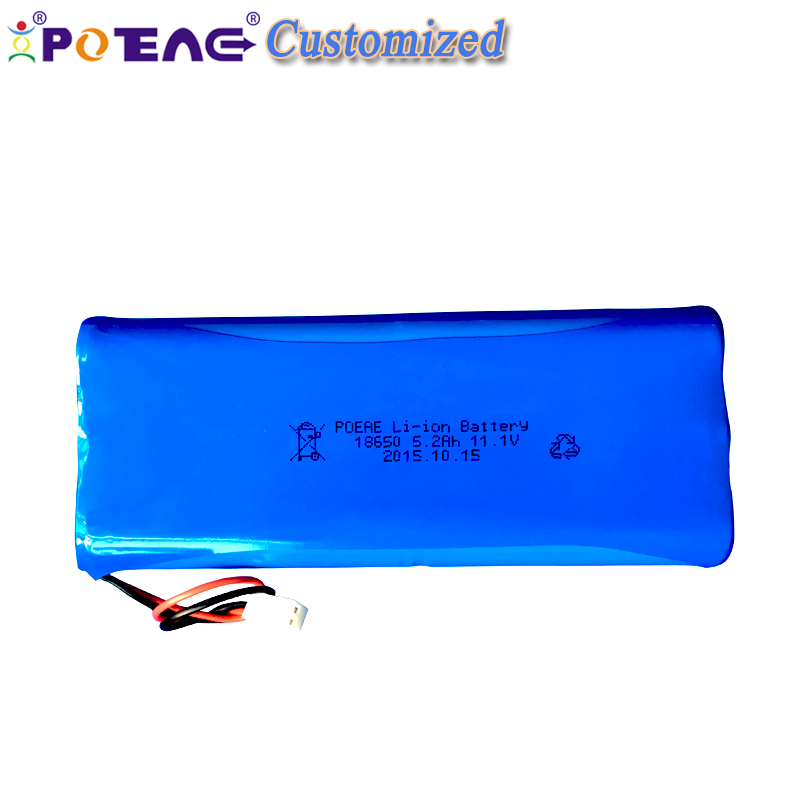 OEM 12 volts 2200mah rechargeable lithium ion battery pack for 12 v led light