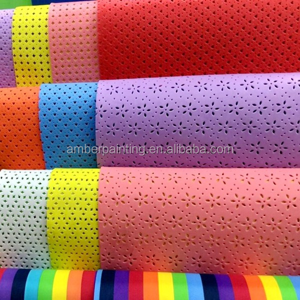 A4 size 2mm foam craft peel and stick eva glitter foam sheet