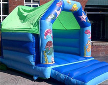 Inflatable Castle Bouncer /monster truck bounce house
