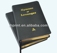 Top Quality Leather Cover Hardback Book Printing