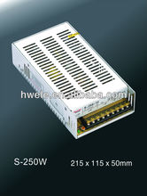 250W 24V LED driver high quality with CE ROHS