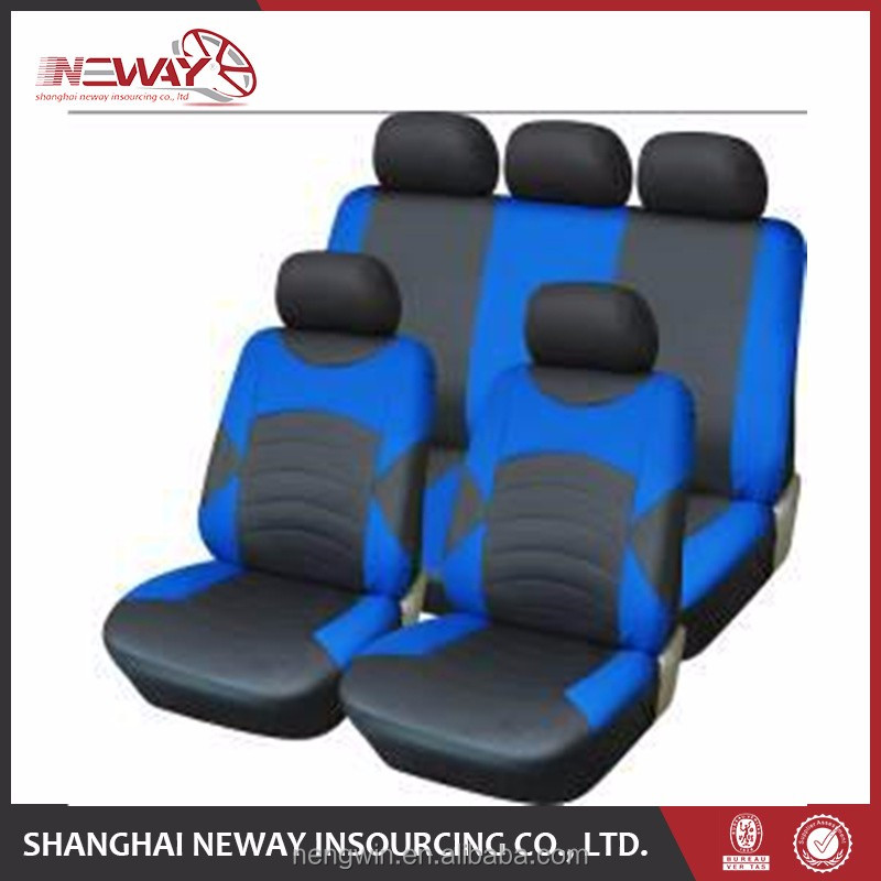 polyester chevron car seat cover with touch screen