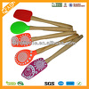 China Factory Supply Wholesale Food Grade New Kitchen Cooking Utensil Non-stick Silicone Spoon Spatula