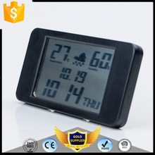 KH-0377 MAX/MIN Digital Temperature Humidity Meter Weather Station Digital Clocks For Sale