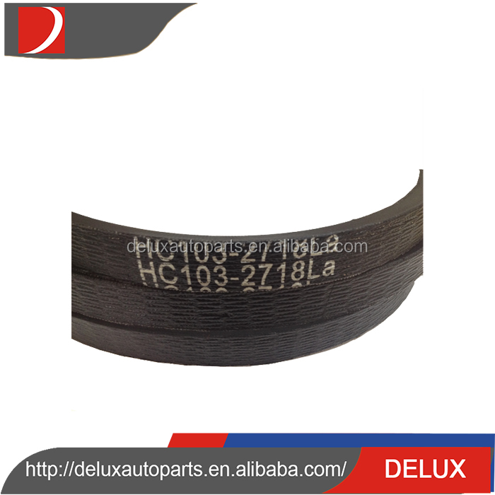 High quality cheap custom best price agricultural banded v belt / harvester v belt / combine v belt
