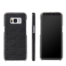 wholesale cheap price real leather phone case for samsung s8 plus
