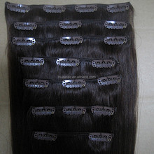 Quality guarantee vendors high quality Malaysian hair virgin cheap clip-in extension to retail