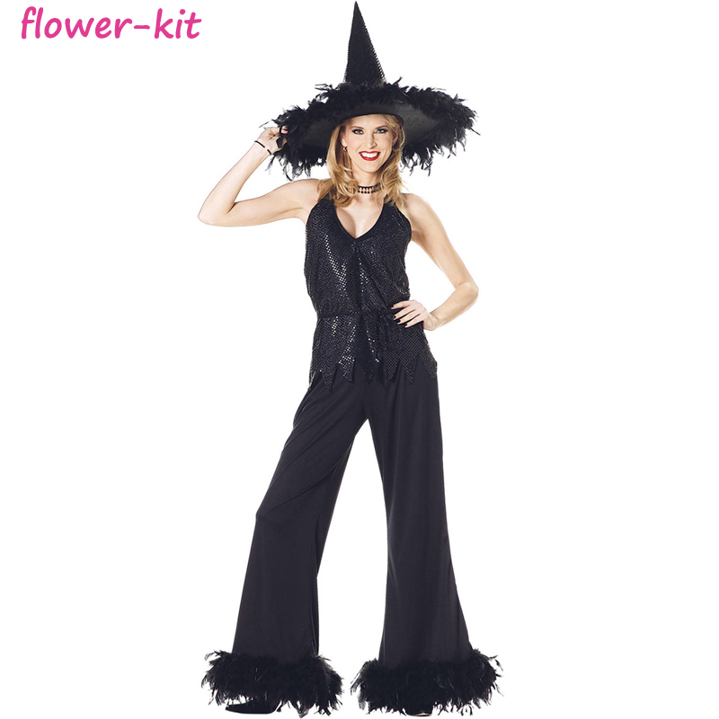Sexy 2017 china wholesale women witch halloween costume