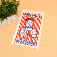 Folding Wholesale Recyclable Popcorn Paper Bag