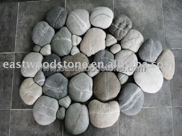 Jard n decoraci n de piedra del adoqu n otras piedras - Adoquin de piedra ...