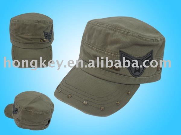 embroidery military hats