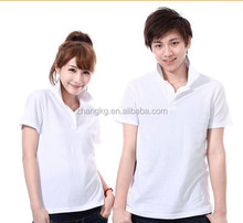 Custom colorful couple polo shirt design,bulk couple polo shirt,plain white polo shirt