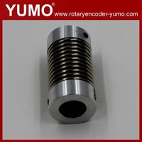 D18 L30 6mm 8mm 10mm encoder coupling spring coupling servo motor steering joints and couplings