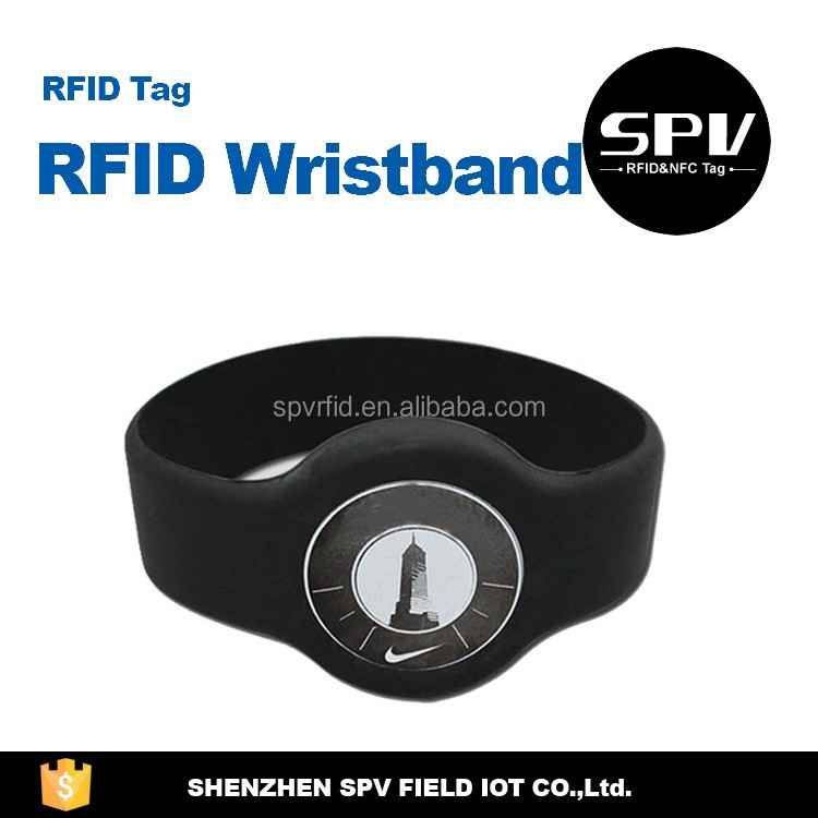 Passive H3 ISO18000-6C 860-960MHz UHF Wristband for Identify/Verify/Authority Tracking