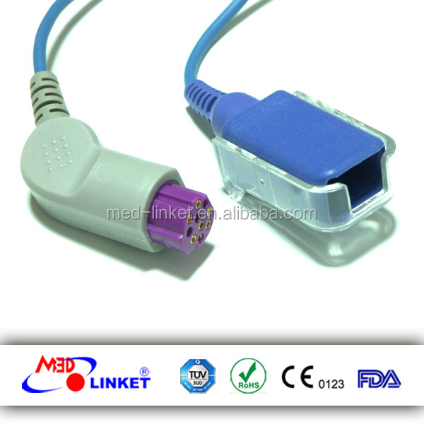 spo2 ext-cable for S&W(Artema) Original SL033057, with CE, FDA certificates