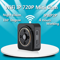 H5 Wifi HD IR Night Vision Motion Detection mini ip wifi camera baby monitor mini dvr camcorder