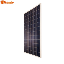 156*156mm Polycrystalline 12v 300w 310w 320w solar panel for 100kw power system