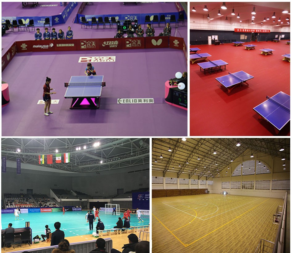 Badminton Sport Gerflor Taraflex Sports Flooring