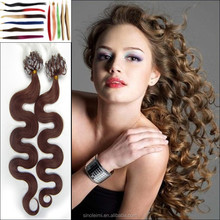 Best Quality 20Inch 50g 100s body Wavy Micro Loop Ring hair Extensions Many Colors can choose Bride Accessories Free Shipping