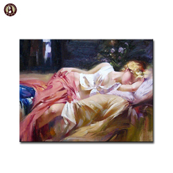 Hot selling Impressional Sexy Nude Girls Wall Paintings for Living Room