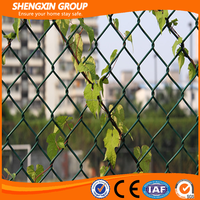 2016 Wholesale high quality cheap price galvanized chain link fence