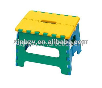 3 PP plastic Folding step stool chair