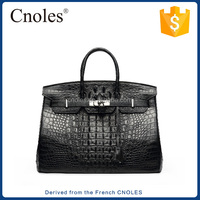 Famous Brands Handbags 2016 Luxury Elegant Tote bag Crocodile handbag for Women